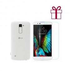 LG K10 LTE K430ds (белый)